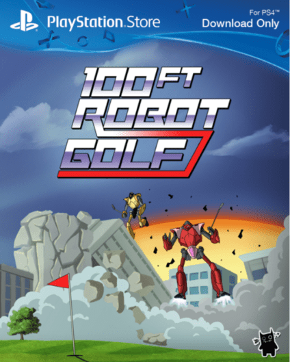 100ft Robot Golf Ps4 PKG Download