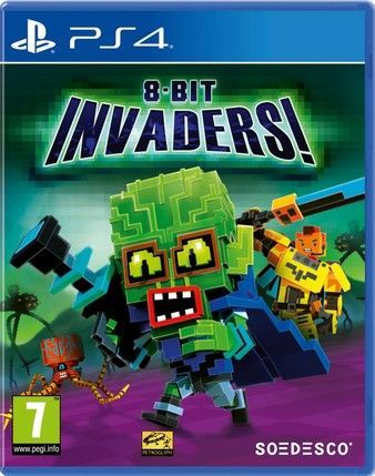 8-Bit Invaders! Ps4 PKG Download