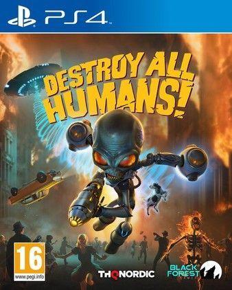 Destroy All Humans! Ps4 PKG Download