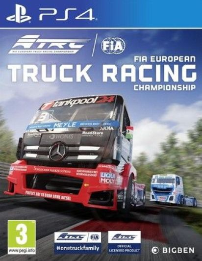 FIA European Truck Racing Championship Ps4 PKG Download