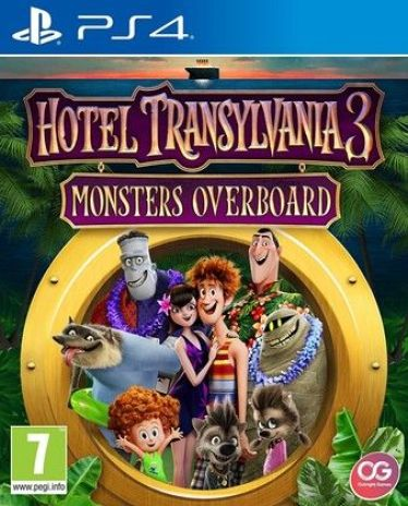Hotel Transylvania 3 Monsters Overboard Ps4 PKG Download
