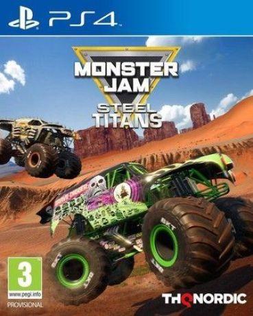 Monster Jam Steel Titans Ps4 PKG Download