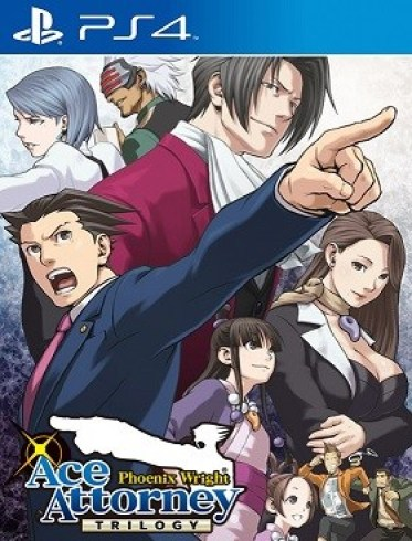 Phoenix Wright Ace Attorney Trilogy Ps4 PKG Download