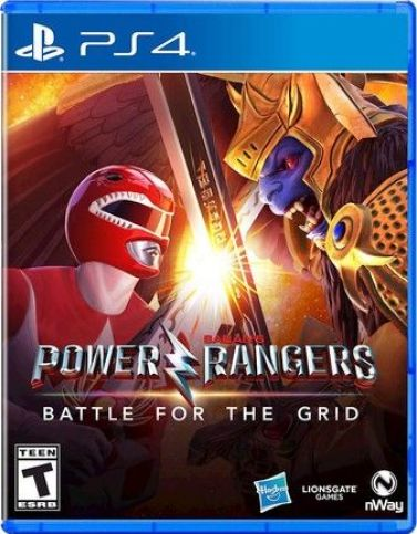 Power Rangers: Battle For The Grid Ps4 PKG Download