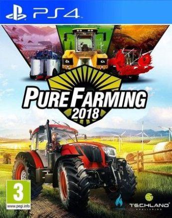 Pure Farming 2018 Ps4 PKG Download