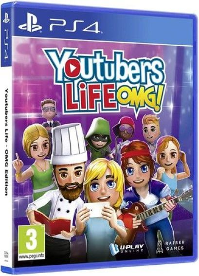 Youtubers Life OMG Ps4 PKG Download