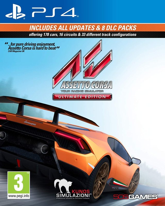 Assetto Corsa Ultimate Edition Ps4 PKG Download