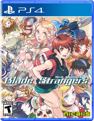 Blade Strangers Ps4 PKG Download