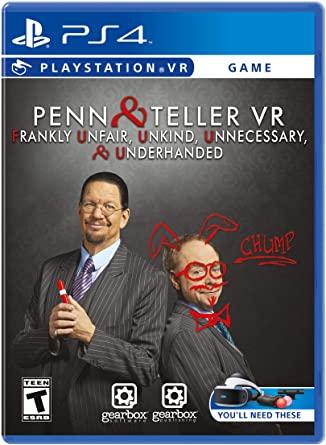 Penn & Teller VR: F U, U, U, & U Ps4 PKG Download