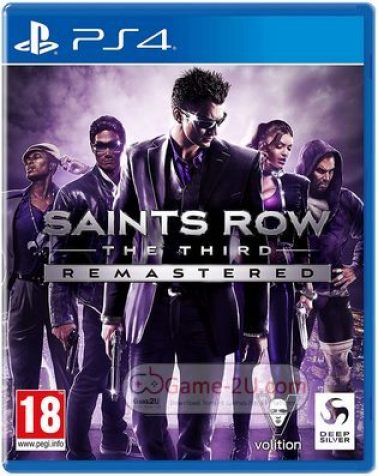 Saints Row: The Third Remastered Ps4 PKG Download
