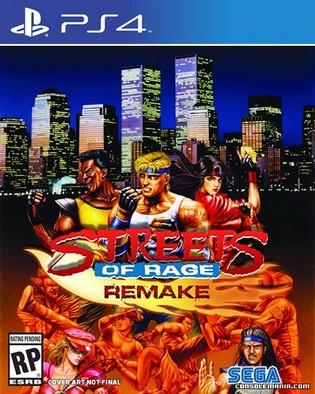 Streets of Rage Remake Ps4 PKG Download