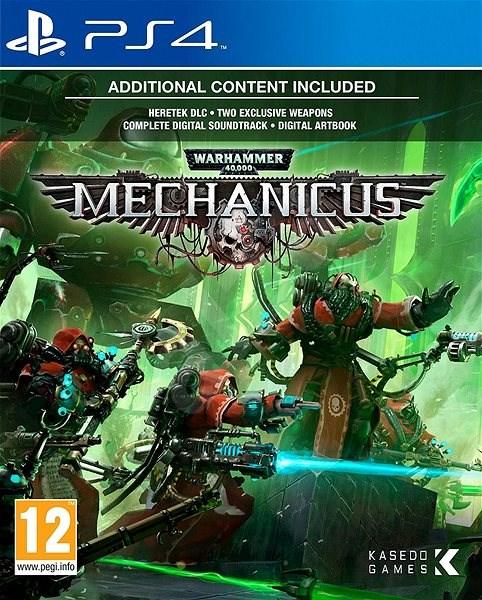 Warhammer 40,000: Mechanicus Ps4 PKG Download