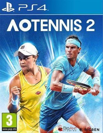 AO Tennis 2 Ps4 PKG Download